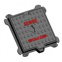 Cheap Double Sealed Manhole Cover C250 Ductile Iron Kerb-side Channel Of Roads for sale