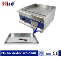 Buy cheap CE Electric griddle Non stick electric griddle Electric flat top griddle WG500D from wholesalers