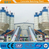Cheap High Capacity 240m3/h Stationary Batching Plant for sale