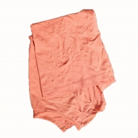 Cheap 10Kg Package Colored T Shirt Rags for sale