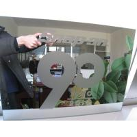 Cheap Sinoy Finished Processed Mirror Glass Sandblasting With Acid Etched Patterns for sale