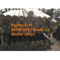 Cheap Stellite X-45 Bars / Rings Special Alloys For Aerospace And Defense Thermal Shock Resistance for sale