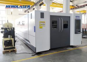 Cheap Herolaser Equipment High Strength 12000W Fiber Optic Laser Cutter Non Deformation for sale