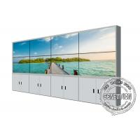 Buy cheap 55'' Video Wall Display Samsung Screen Floorstand Bracket LCD Panels Narrow from wholesalers