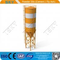 Cheap ISO Industrial Cement Lime Fly Ash 500T Powder Silo for sale