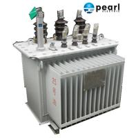 Quality Anti - Lightning Impulse Oil Immersed Transformer 11 KV - 500 KVA Economic wholesale