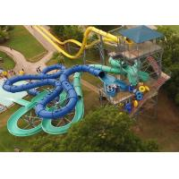 Aqua Park Equipment Spiral Tube Slide Commercial Playground Equipment