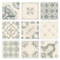 Fashion Patterned Concrete Kitchen Wall Cladding Tiles Hot Bordered 20x20cm