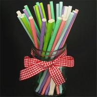 Cheap Beautiful Decorative Paper Straws Drinking Straws Fit Family Gatherings for sale