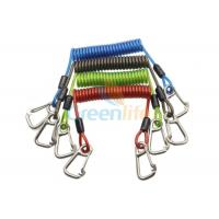 Cheap 316 Stainless Steel Clips Coiled Tool Lanyard for sale