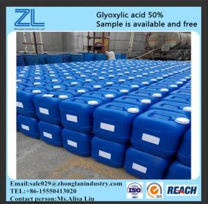 CAS NO.:298-12-4,glyoxylic acid 50% for hair straightening