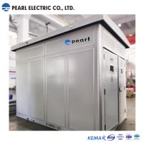 Cheap High Voltage / Low Voltage Pre Fabricated Substaion With Dry Transformer for sale