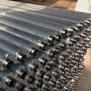 Cheap Customized Aluminium Finned Heat Exchanger Tube for sale