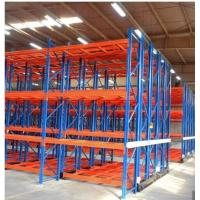 Cheap Electrical Powered Mobile Shelving Racking Systems For Warehouse Cold Storage for sale