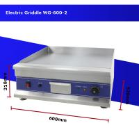 Quality CE Grooved griddle Electric griller Cast iron cooking griddle for Restaurant wholesale