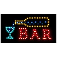 Cheap advertising board Flashing LED Sign Open sign led message display for sale