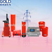 Cheap GDXZ Generator Resonance AC Withstand Voltage Test System for sale