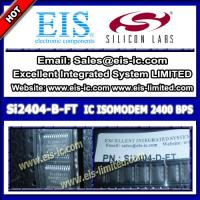 China Si2404-B-FT - SILICON IC components  IC 2400 BPS ISOMODEM WITH ERROR CORRECTION SYSTEM-SID on sale
