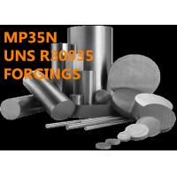 Cheap Excellent MP35N R30035 Corrosion Resistant Alloys Ultrahigh Tensile Strength for sale