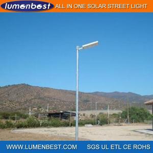 Cheap 20W 30W 40W 50W 60W 80W Solar LED Street Light for sale