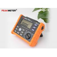Cheap Auto Power Off Earth Ground Resistance Tester With Data Logging And Backlight for sale