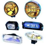 Cheap automotive marchal led clear Halogen fog lights yellow revolving for sale