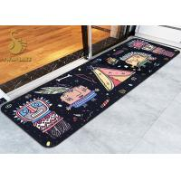 Memory Form Indoor Area Rugs / Bedroom Floor Mats with Anti-slip PVC Coated Dots