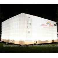 Cheap LED Light Cube Inflatable Tent for outdoor event for sale