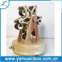 Cheap Wooden Music Box watermill shape Birthday Gift/Music Gift/gift for sale