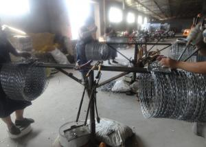 Cheap CBT-65 500mm Razor Wire Mesh Fencing for sale
