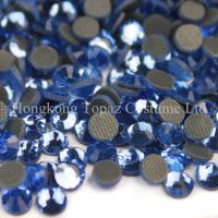 Cheap SS10 nice quality world dmc crystal hot fix stone for fabric for sale