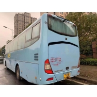 Cheap Used Coach Bus Yutong Brand ZK6117 65 Seats Yuchai Rear Engine 120km/H Single Door Used Passenger Buses Left Steering for sale