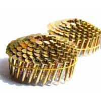 Buy cheap 1-3/4-Inch x .120 Smooth Shank Electro galvanized 15 Degree Roofing Coil Nail from wholesalers