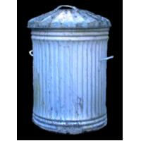 Cheap stainless steel dustbin L864 for sale