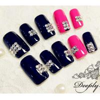 Cheap bling bling nail stones crystal flat back stones for nail decor for sale
