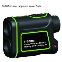 Cheap 600m Multi function Golf Rangefinder with multi function of measuring the range and speed for sale