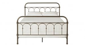 Cheap Retro Fireproof Odm Industrial Style Metal Bed Frame For Bedroom for sale