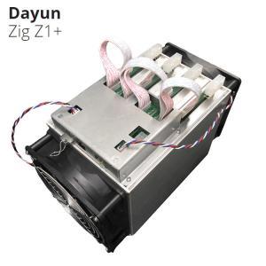 Cheap Lyra2Rev2 Algorithm 7.25G/S 1200W DAYUN Z1+ Zig Z1+ Miner Asic Mining Machine for sale