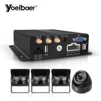 Cheap 1080P AHD Mobile DVR System Real Time G Sensor 3G 4G SD Mini Car Security CMSV6 for sale