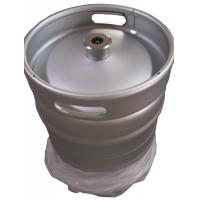 Cheap Silver Color Euro Standard 1 2 Keg 50L Capacity 1.5 And 2mm Thickness for sale