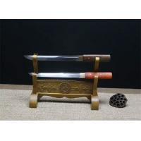 Cheap hand made short sword with ebony saya SS014 for sale