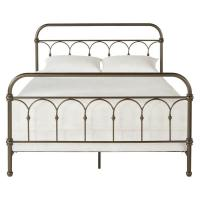 Cheap Standard Metal Wrought Iron Platform Bed Strong Sturdy Construction Easy Clean for sale