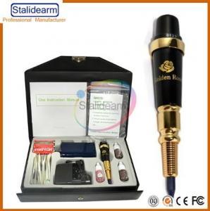 China New designer Digital Golden Rose Tattoo Machine Kit on sale