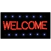 Cheap Led billboard signs Facade business logo Led screen welcome for sale