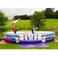 Cheap Sport games gladiator joust ,inflatable joust for sale,inflatable jousting arena for adults for sale