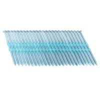 China Full Round Head Plastic Strip Nails Smooth / Ring Shank 3.25 In. x 0.121 In. 20 - Degree on sale
