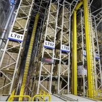 Cheap Roboticized Industrial Warehouse Racking Systems Heavy Duty ASRS System for sale