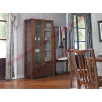 Cheap Solid wooden with Glass Door Sideboards for Wine Cabinet in Dining Room Furniture for sale