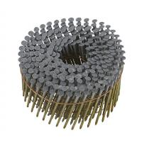 Full Round Head Hot Dipped Coil Nails , Smooth Shank Coil Siding Nails 2 - Inch x 0.092 - Inch