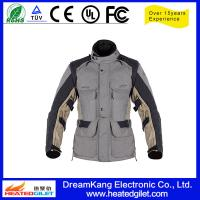 Cheap 2015 New style waterproof and windproof motorcycle jackets with electric heated system for sale